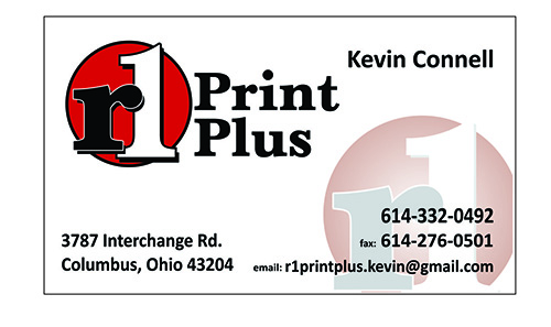 R1 Business cards Kevin